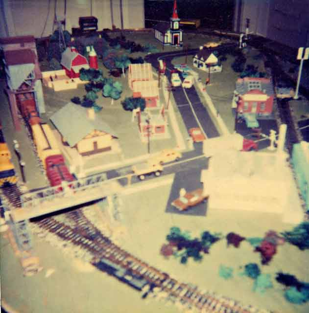 My train layout, circa '78