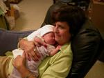 Nana holding Molly